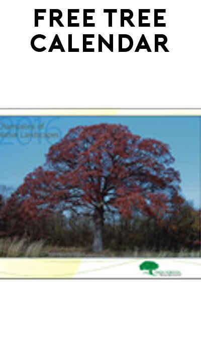 FREE 2016 Trees Forever Calendar