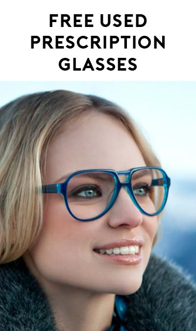 FREE Used Prescription Glasses From Non-Profit Respectacle