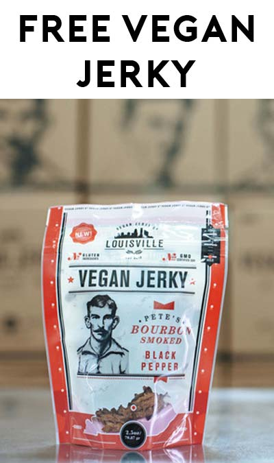 FREE Full-Size Bag Of Luisville Vegan Jerky (Food Bloggers Only)