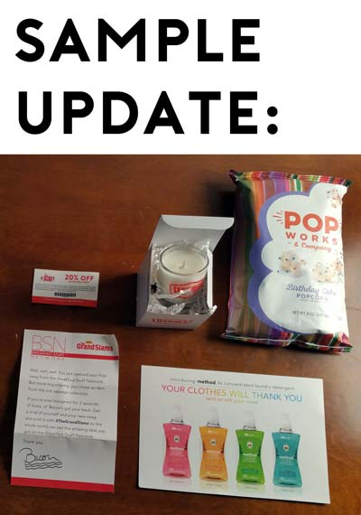 Sample Updates: Kai Fragrance, Torani K-Cups, Dr. Chicken Spices, Denny's Swag, Victoria's Secret & PINCHme