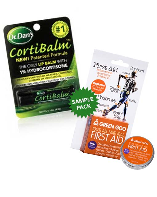 TODAY (3/1) ONLY: FREE Dr. Dan's Cortibalm & Green Goo First Aid At 1PM EST & 3PM EST On Facebook