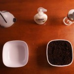 Super Lazy Way To Make Exfoliating & Deodorizing Coffee Soap For Kitchen