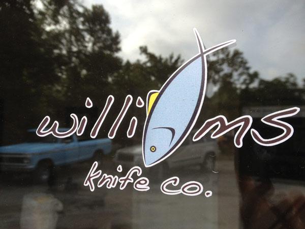 FREE Williams Knife Co. Sticker