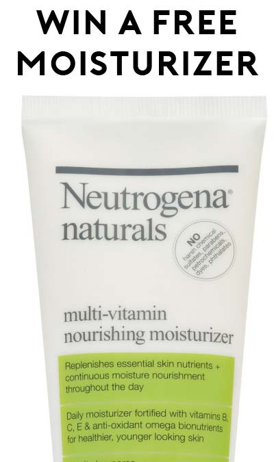 Win A FREE Neutrogena Naturals Multi-Vitamin Nourishing Moisturizer From Beauty Undercover