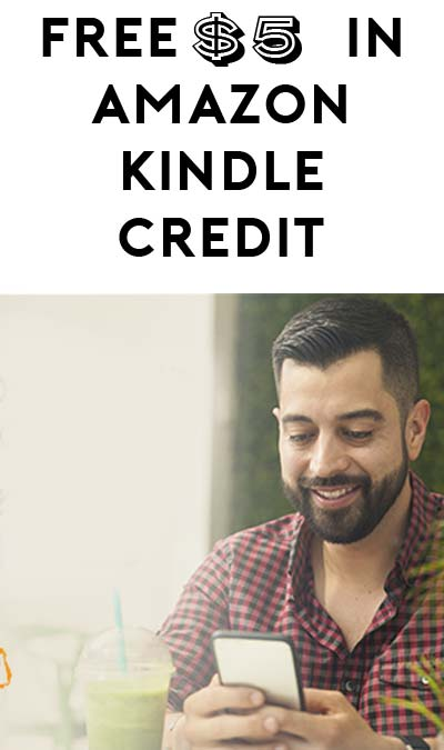 FREE $5 Kindle eBook Credit (Select Accounts)