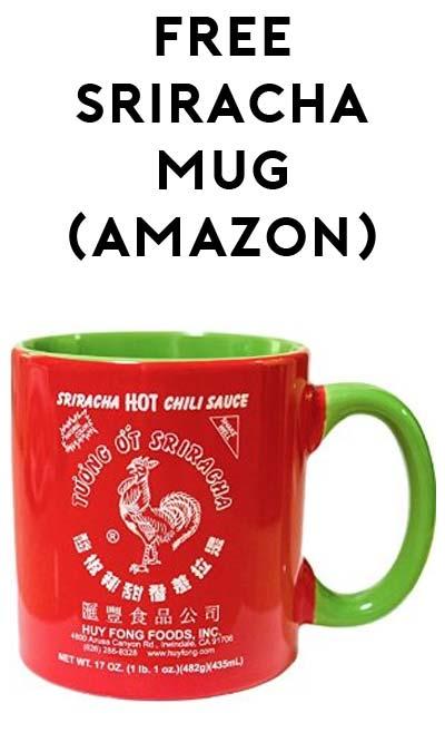 FREE Sriracha Mug (Free Shipping With Amazon Prime)