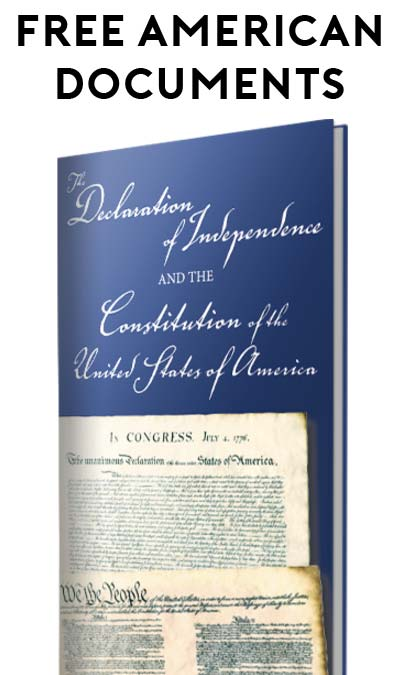 FREE Constitution and Declaration of Independence Booklet From Hillsdale College [Verified Received By Mail]