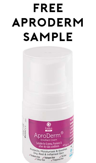 FREE AproDerm Emollient Cream 45g Sample Bottle