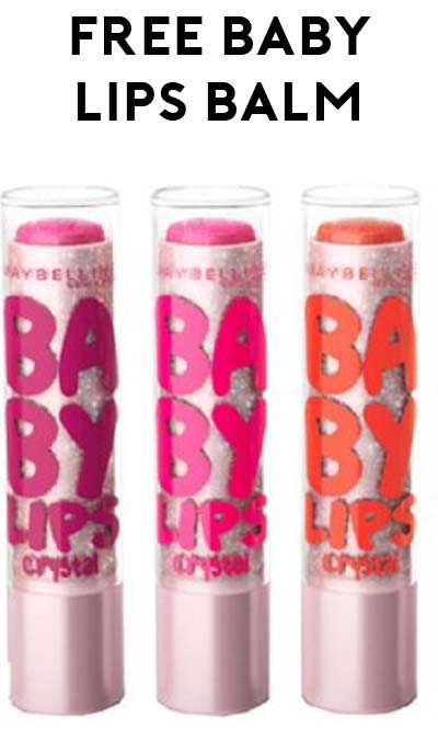 ENDS TODAY: 2 FREE Maybelline Baby Lips Moisturizing Lip Balm At CVS (Coupon Required)