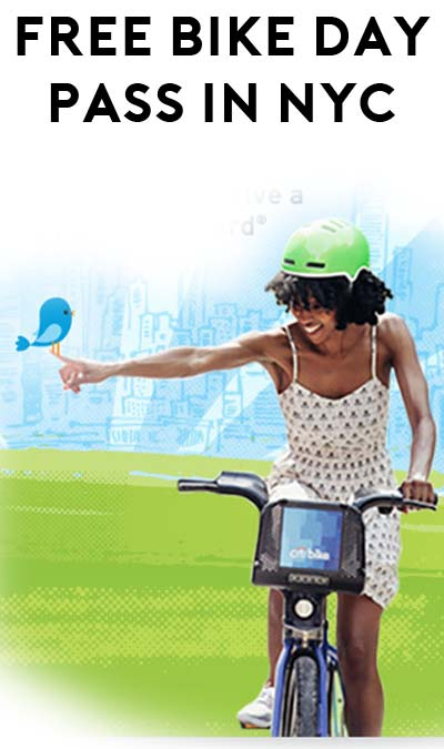 FREE Citibike Ride In New York City For Earth Day April 21st