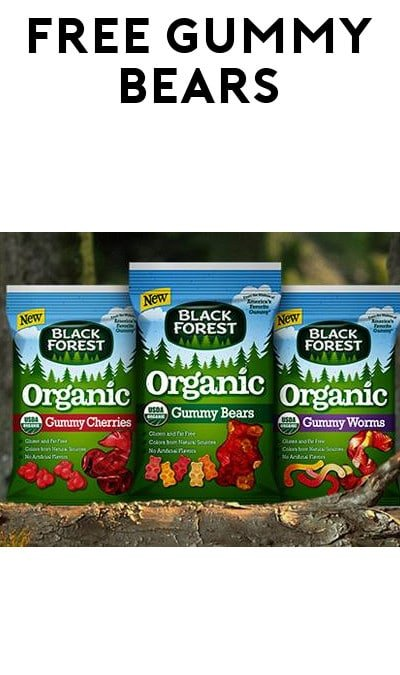 FREE Black Forest Organic Gummy Bears (Facebook Message Required)