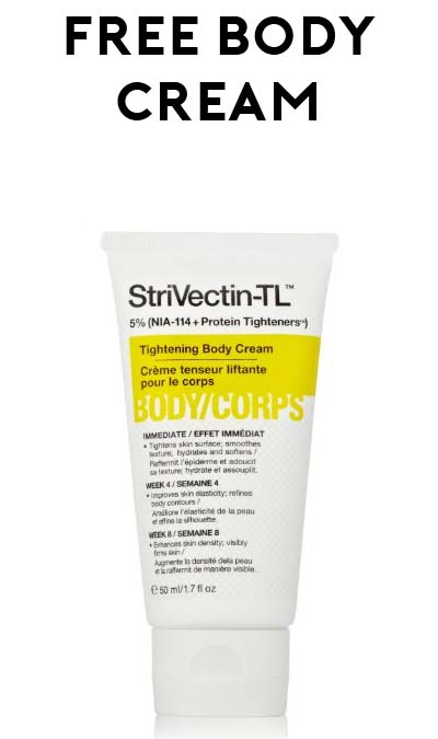 FREE StriVectin TL Tightening 1.7oz Body Cream After Rebate On Amazon (Free Shipping For Prime)