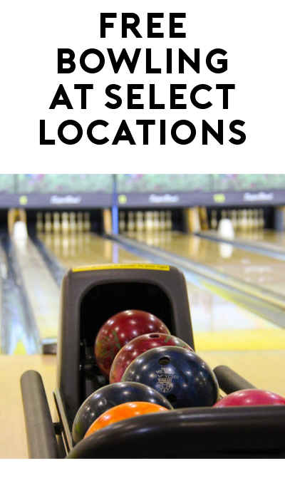 FREE Game Of Bowling Daily Until December 31st