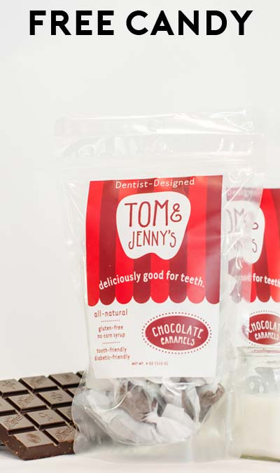 FREE Dentist-Designed Candy Sample Pack From Tom & Jenny's Candy