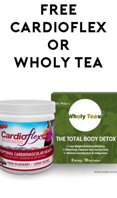 FREE CardioFlex Q10 or Wholy Tea From Innotech Nutrition