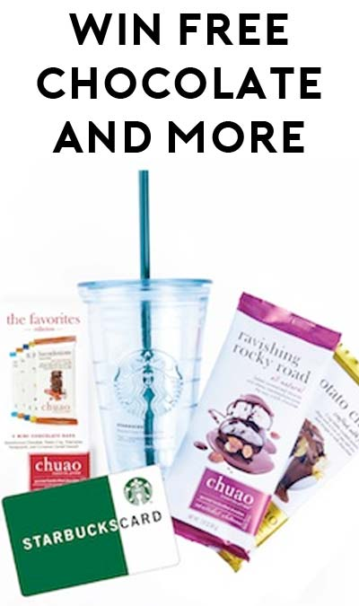Win FREE Chocolate Bars & Starbucks Gift Cards From Chuao Chocolatier (Facebook Required)