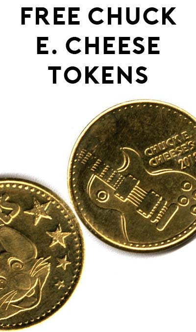 10 FREE Chuck E. Cheese Tokens (For Making Your Kid Do Chores!)