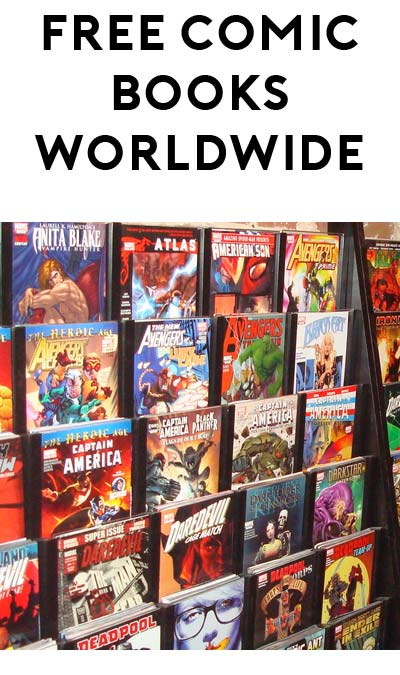 TODAY ONLY: FREE Comic Books World-Wide On Comic Book Day May 6th 2017
