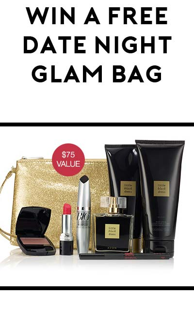 Win A FREE Avon Date Night Glam Bag With Fragrance, Lipstick & More