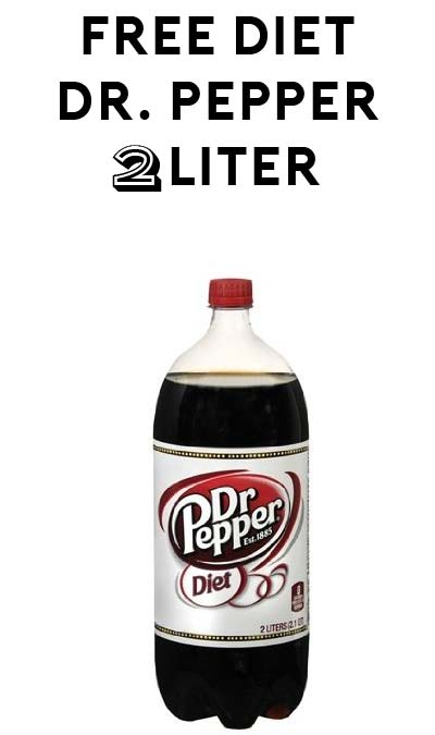 FREE Diet Dr. Pepper 2-Liter At Food Lion