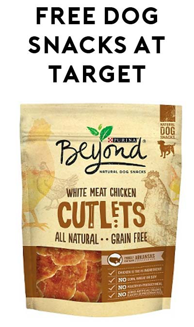 Ends Today: FREE Purina Beyond Dog Snacks at Target (Coupon Stacking Required)