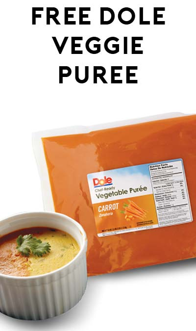 FREE 53 oz. Chef-Ready Vegetable Purées (U.S. Foodservice Operators Only)