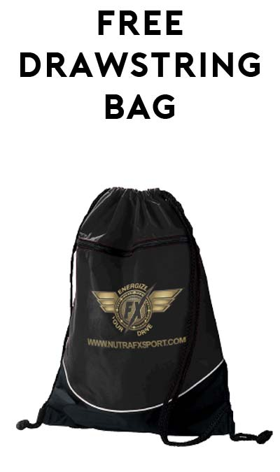 FREE NutraFX Drawstring Bag