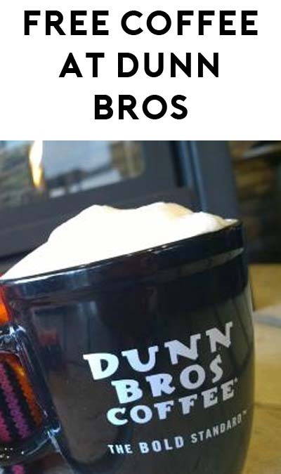 FREE Coffee or 50% Off Prepared Drinks At Dunn Bros Coffee (Select Areas)