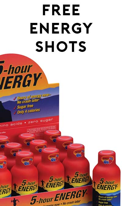 Possible FREE 5-Hour Energy Packs
