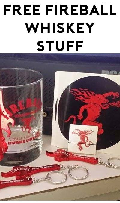 """Fireball Made A Mistake On Their Site? FREE Fireball Shot Glass, Bottle Opener, Stickers & More For """"Fireball Friday"""" At Midnight"""