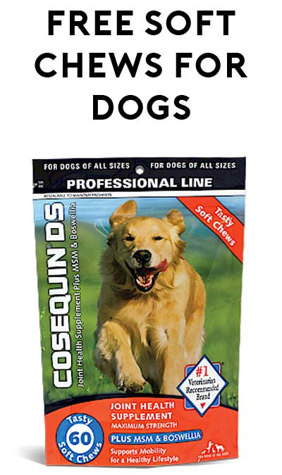 FREE Cosequin DS Soft Chews For Dogs