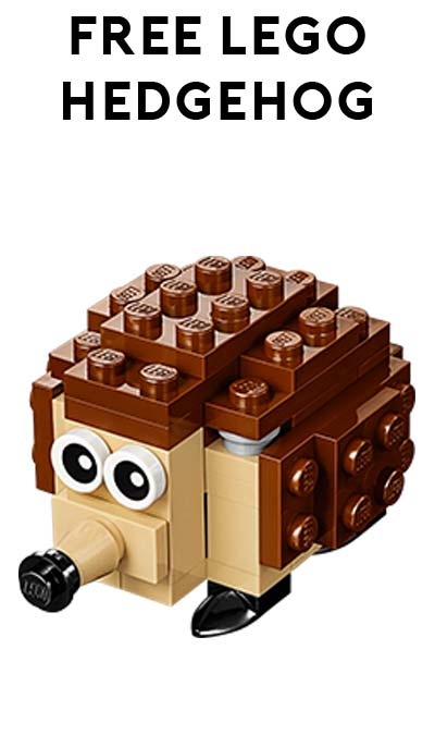 FREE LEGO Hedgehog From Mini Model Build Event May 3rd/4th