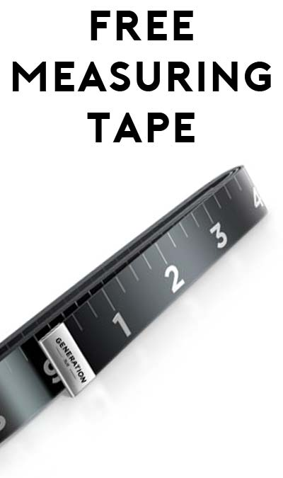 FREE Measuring Tape from Generation Tux