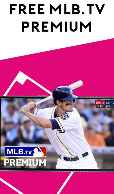FREE MLB.TV Premium Subscription For T-Mobile Customers (Mobile/Tablet Required)