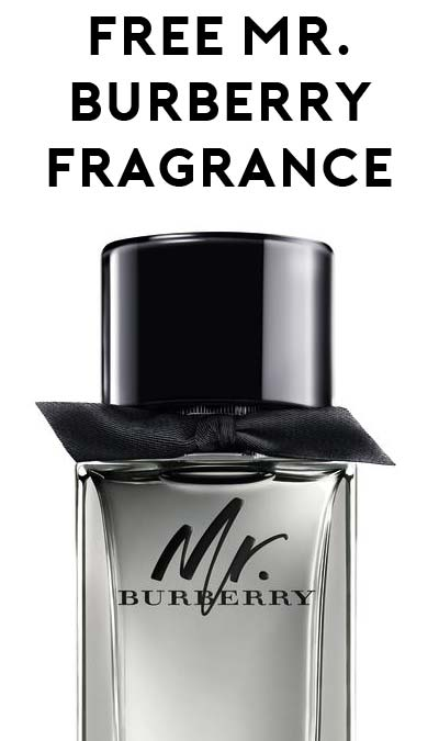 FREE Mr. Burberry Fragrance for Men