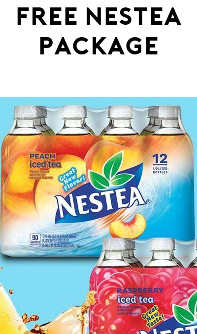 FREE Nestea 12-pack (mPerks Required)