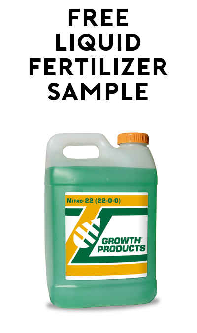 FREE Organic All-Natural Liquid Fertilizer Sample