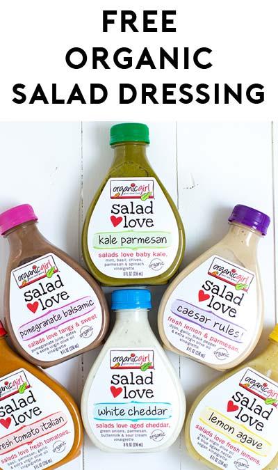 FREE Organic Girl Premium Salad Love Dressing Coupon