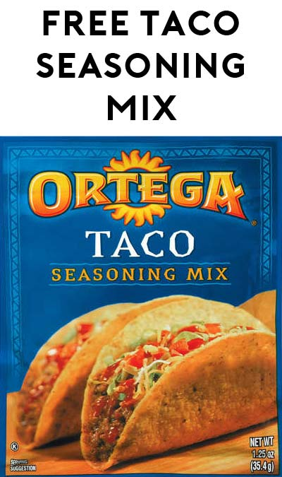 FREE Ortega Taco Seasoning (SavingStar Required)