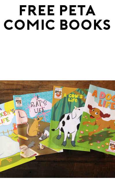 4 FREE PETA Kids Comic Books