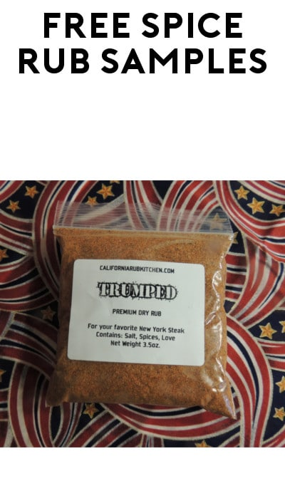 FREE California Handmade Premium Dry Rub