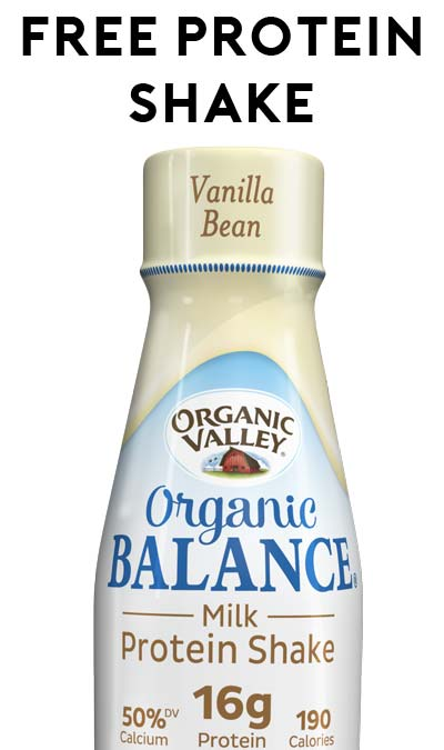 FREE Organic Valley Organic Balance Milk Protein Shake (Quiz Required) [Verified Received By Mail]
