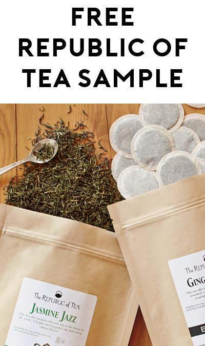 FREE Republic Of Tea Premium Tea Bag Samples [Verified Received By Mail]