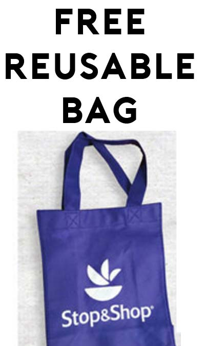 FREE Reusable Bag From Stop & Shop (Email Required)