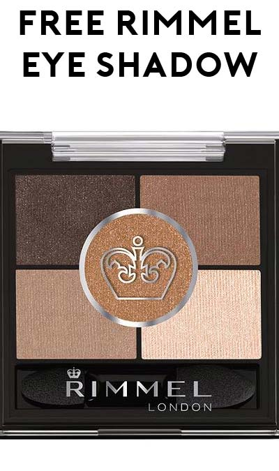 FREE Rimmel London Eye Shadow at Dollar Tree (Coupon Required)