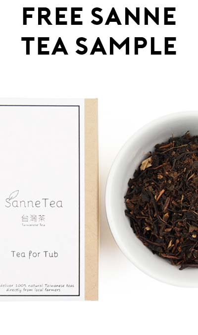 FREE Sanne Tea Sample Bag (10 Question Survey Required)