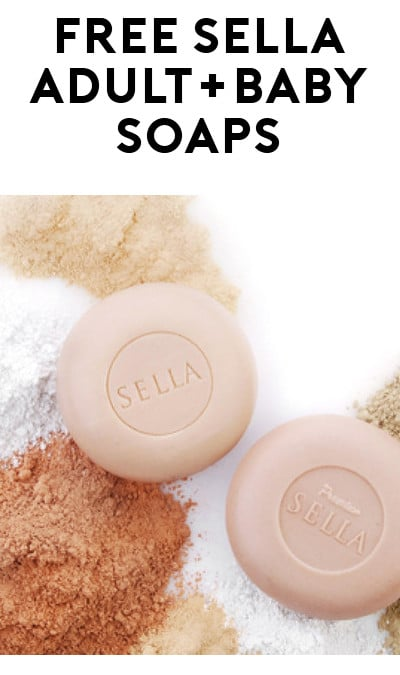 FREE Sella Adult Or Baby Natural Premium Soap Sample
