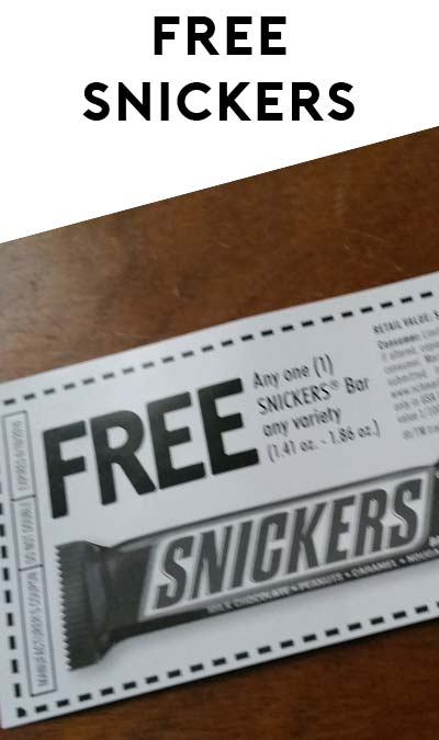Last Day! FREE Snickers Candy Bar Instant Win Game (You Can Re-Enter Daily For Up To 5 Snicker Bars!)