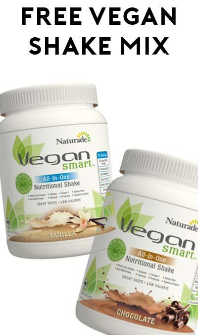 FREE VeganSmart Vegan Shake Mix