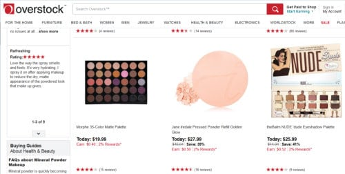 Overstock - where to find the best beauty discounts